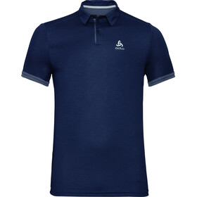 Odlo F-Dry Kurzarm Polo Shirt Herren diving navy